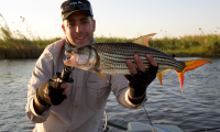 Werner Nel joined InsideAngling at Ichingo Chobe River Lodge